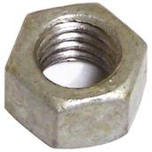 "Hexagonal Nut - Galvanized Steel - 3/8"" x 16 pitch - 25PK"