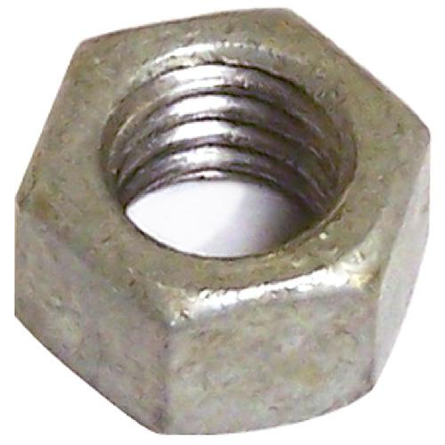 """Écrou hexagonal en acier galvanisé, 1/2"""" x 13 pas, 25/boîte"""