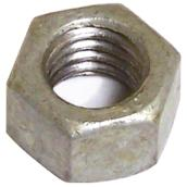 "Hexagonal Nut - Galvanized Steel - 1/2"" x 13 pitch - 25PK"