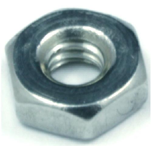 Hexagonal Nut for Machine Screw - #10 x 24 pitch - 6PK