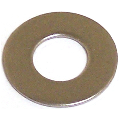 "Flat Washers - 5/16"" - Pack of 5 - Stainless Steel"