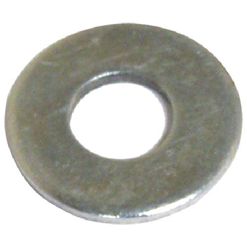 """Flat Washers - Steel - 3/16"""" - Box of 25 - Zinc Finish"""