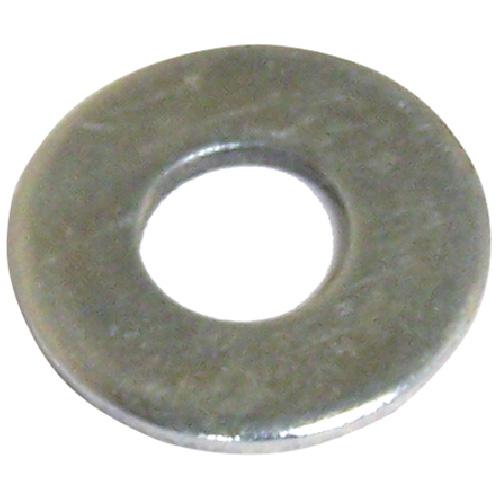 """Rondelles plates en acier, 5/16"""", boîte de 100, fini zinc"""