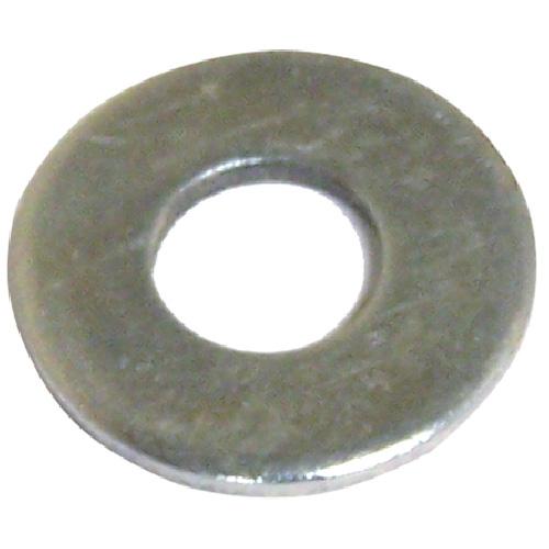 """Rondelles plates en acier, 7/16"""", boîte de 75, fini zinc"""