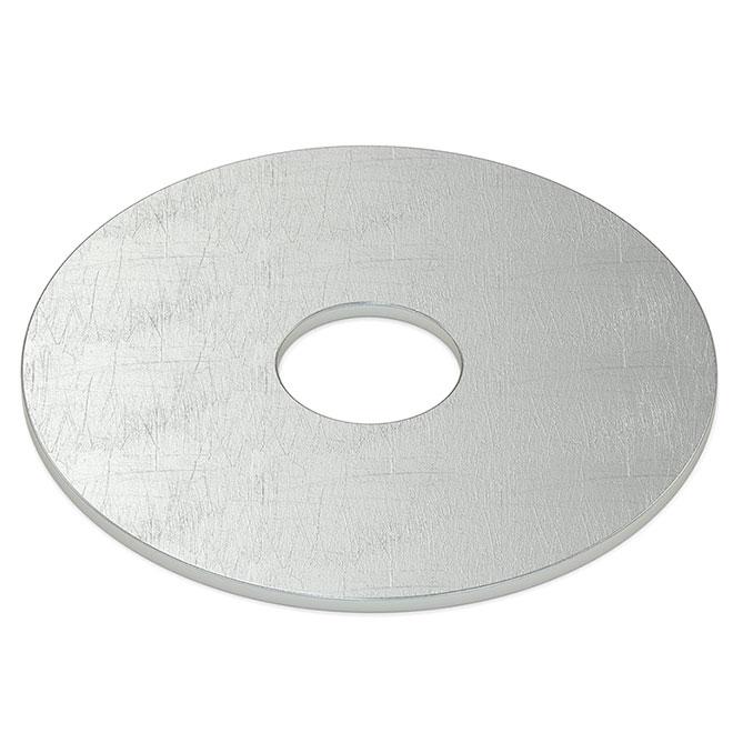 """Rondelle pare-choc en acier, 5/16"""", boîte de 75, zinc"""