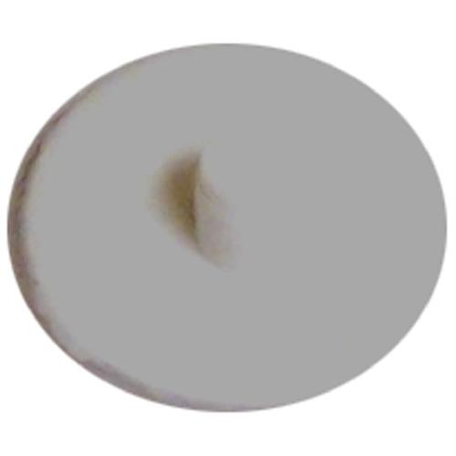 Screw Plastic Square-Drive Cover Cap - #6 - White - 25 Box