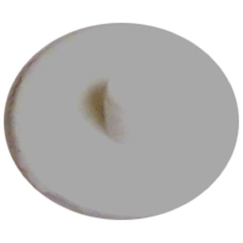 Screw Plastic Square-Drive Cover Cap - #8 - White - 25 Box