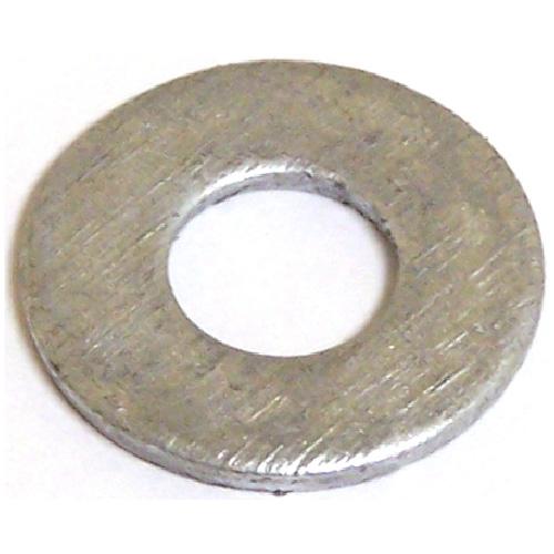 "Flat Washers - Steel - 5/16"" - Box of 50 - Galvanized Finish"