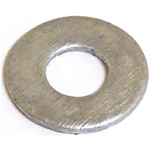"""Rondelles plates en acier, 3/8"""", boîte de 25, fini galvanisé"""