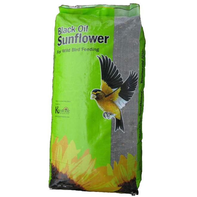Black Oil Sunflower Seeds for Birds - 25lbs