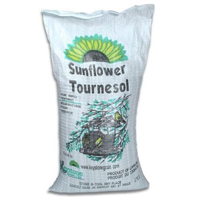 Striped Sunflower Seeds for Birds - 25lbs