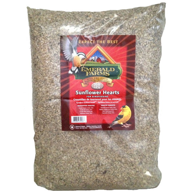 Sunflower Hearts for Bird - 9kg