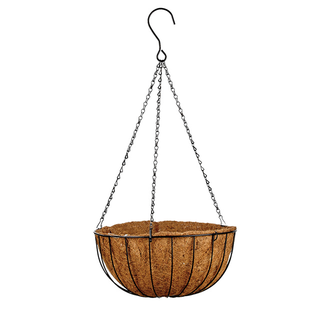 Gardenstar Panier suspendu en fibre de coco, 14 po 640003156