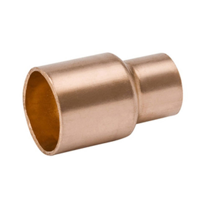 "Straight 1"" - 1/2"" Copper Solder to Solder Reducing Sleeve"