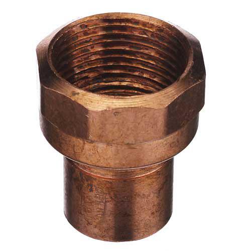 Adaptateur en cuivre 1 1/2 po