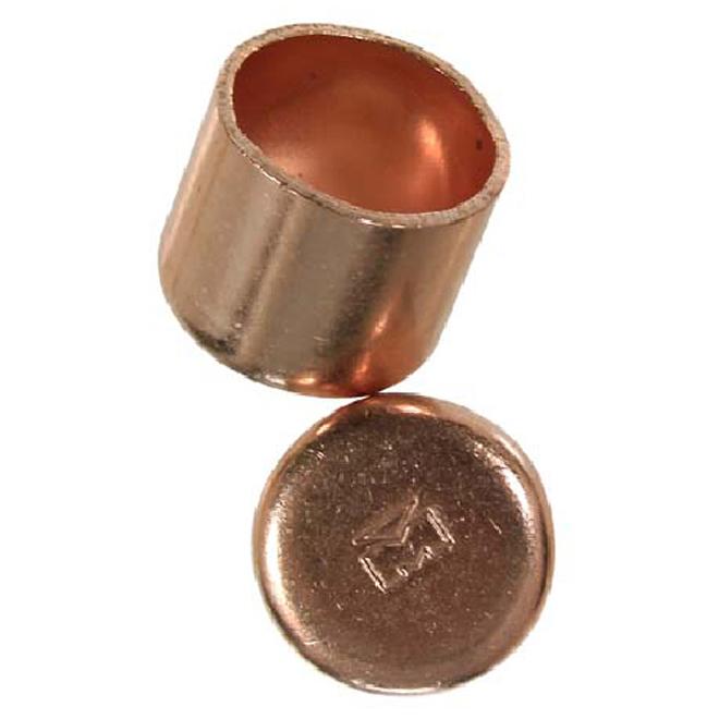 1-in Copper cap