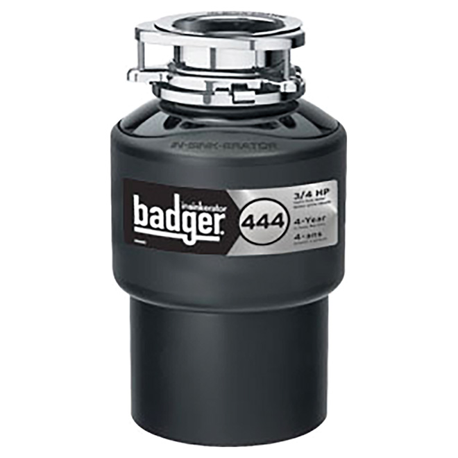 waste disposer badger 444 food waste disposer rona rh rona ca InSinkErator SST Parts and Manual 444 InSinkErator Garbage Disposal