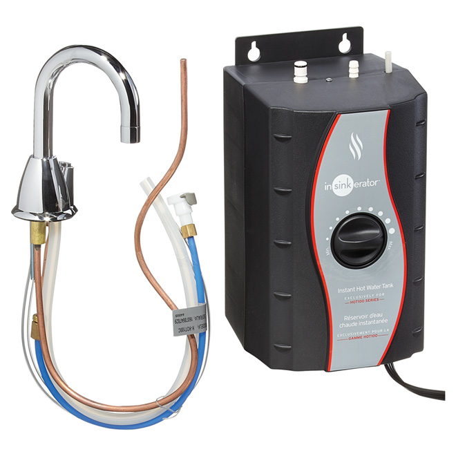 Hot Water Dispenser - 2/3 Gallon - Chrome