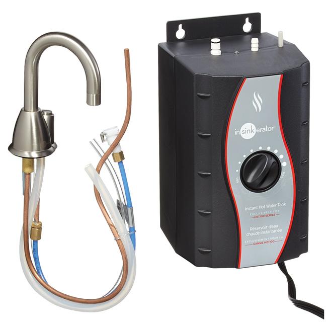 Hot Water Dispenser - 2/3 Gallon - Satin Nickel