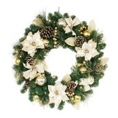 Decorated Artificial Wreath - 30""