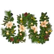 Lighted Garland - 9' - Champagne
