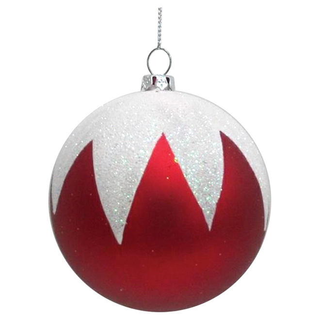 Christmas Ball - Plastic - Assorted Colors