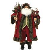 Père-Noël décoratif en tissu, 23,39