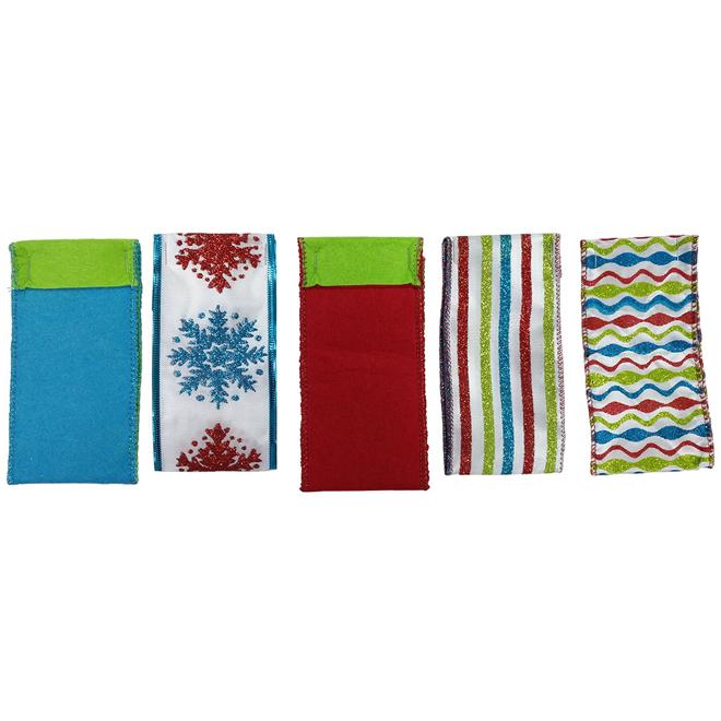 Decorative Ribbons - 5 Designs - Nylon