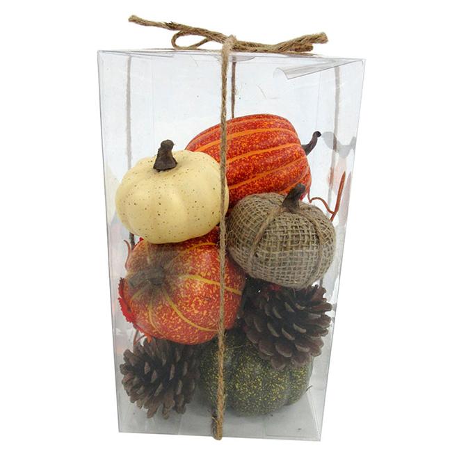 Trousse de décoration d'automne, 10 pièces