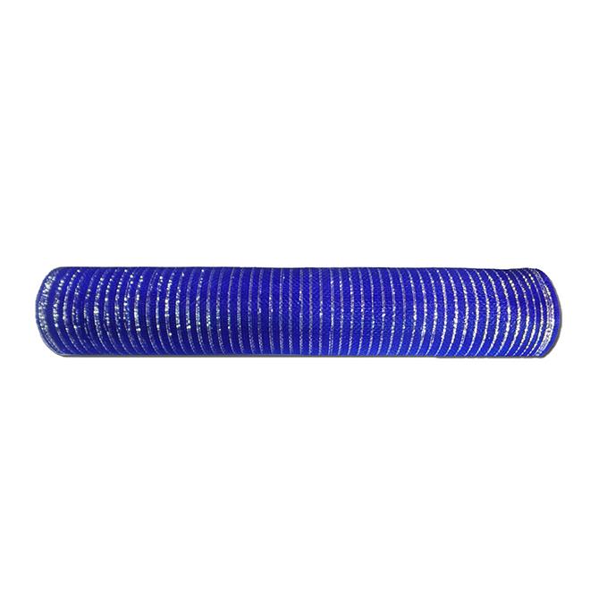 "Decorative Mesh - Polyester - 21"" x 30"" - Blue"