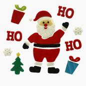 Santa Claus Window Sticker Set