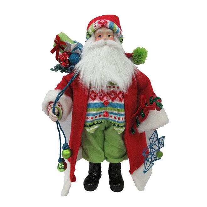 """Santa Claus - 18"""" - Multicoloured"""