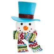 Bonhomme de neige avec chapeau, 8
