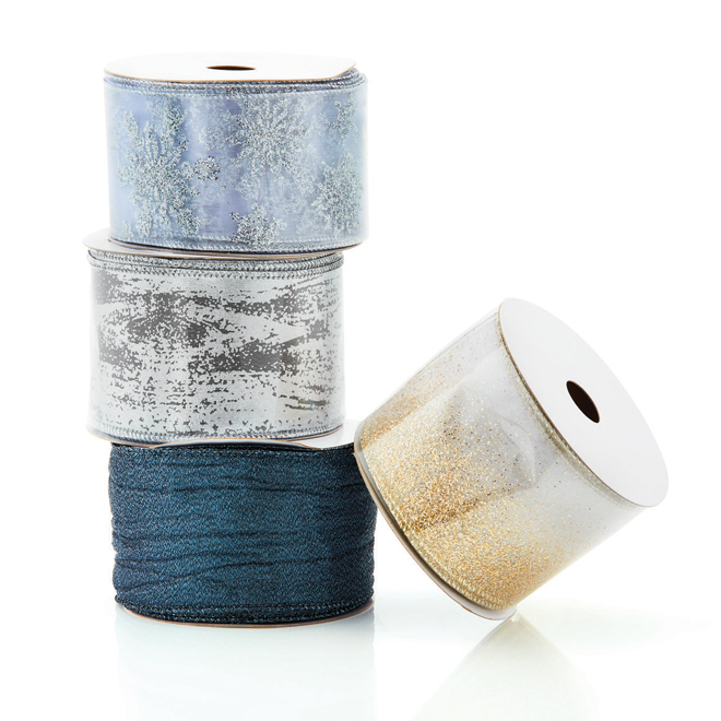"Decorative Ribbons - 2.5"" x 10 vg - Nylon - Assorted"