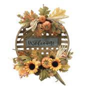 Couronne décorative en forme de panier Holiday Living, intérieur/extérieur, 19 po, 1 unité
