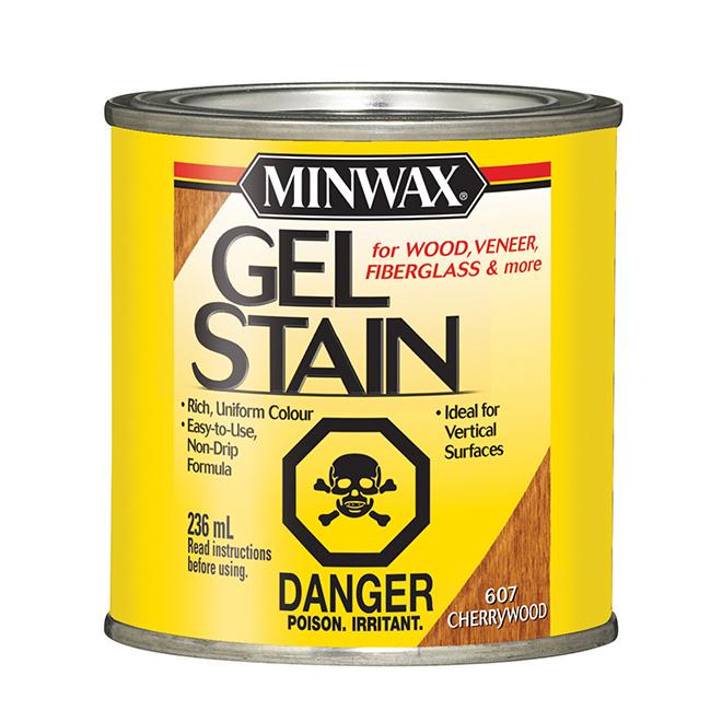 Oil-Based Gel Stain - Cherrywood - 236 ml