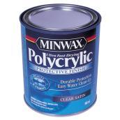 Fini protecteur à base d'eau Polycrylic, 946 ml, satiné