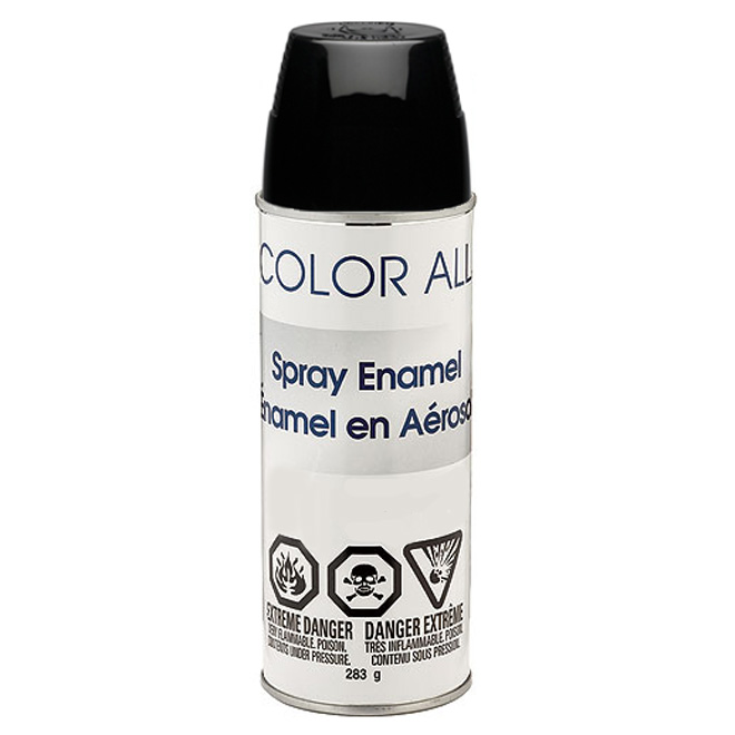 Sherwin-Williams - Spray Paint - 283 g - Gloss - Black