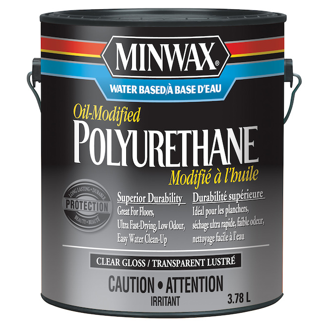Polyurethan Stain - 3.78 L - Clear Semi-Gloss
