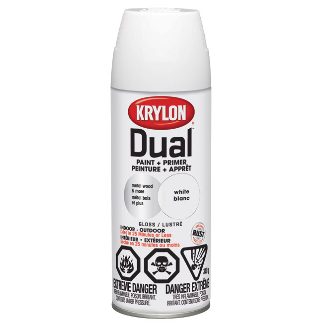 """Dual"" 2-In-1 Primer and Paint"