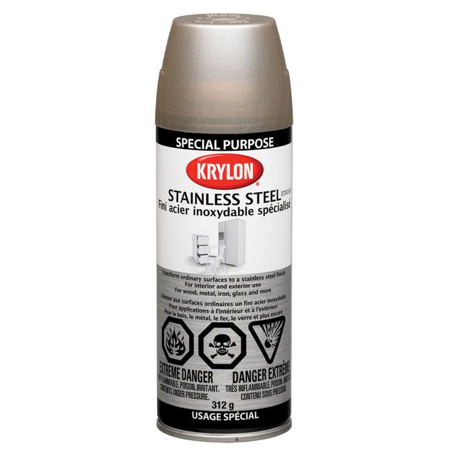"""Stainless steel finish"" Spray Paint"