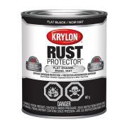 Krylon Rust Protector - Rust Preventative Enamel - 946 ml - Flat Black