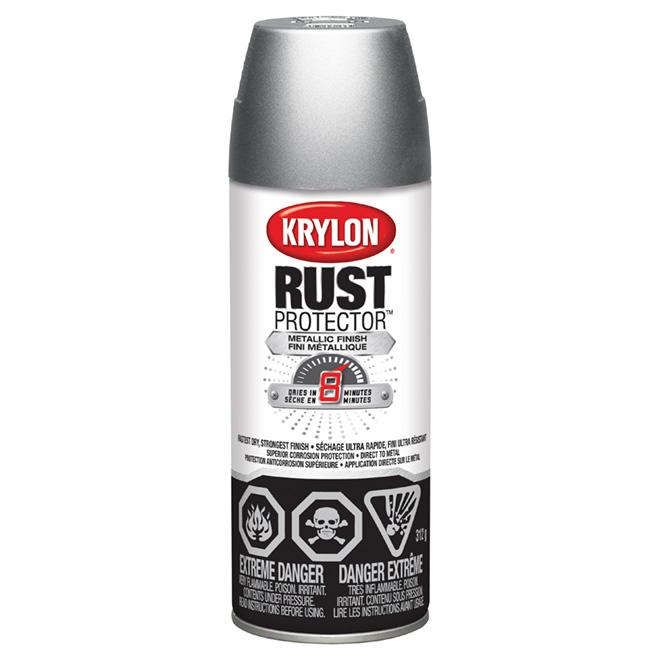 Krylon Rust Protector(TM) - Rust Spray Paint - 312 g - Aluminum