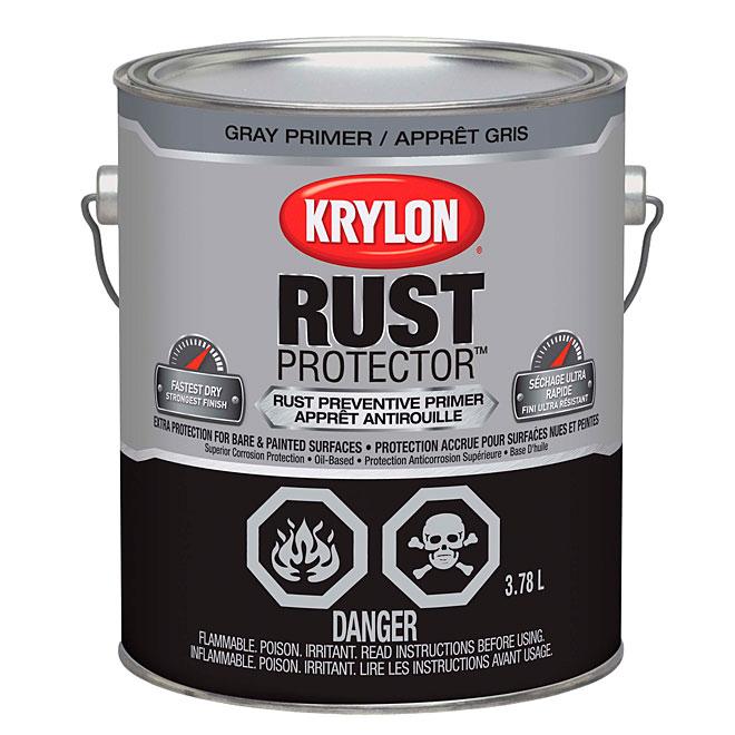 Krylon - Rust Primer - Oil - 3.78 Ml - Grey