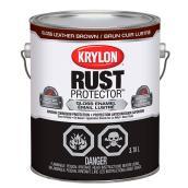 Krylon Rust Protector - Rust Preventative Enamel - 3.78 L - Gloss Leather Brown