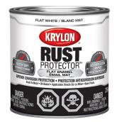 Krylon Rust Protector - Rust Preventative Enamel - 236 ml - Flat White