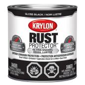 Krylon Rust Protector - Rust Preventative Enamel - 236 ml - Gloss Black