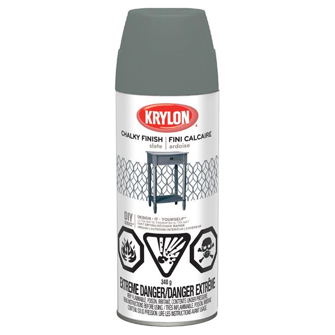 Krylon Aerosol Decorative Paint - 340 g - Slate