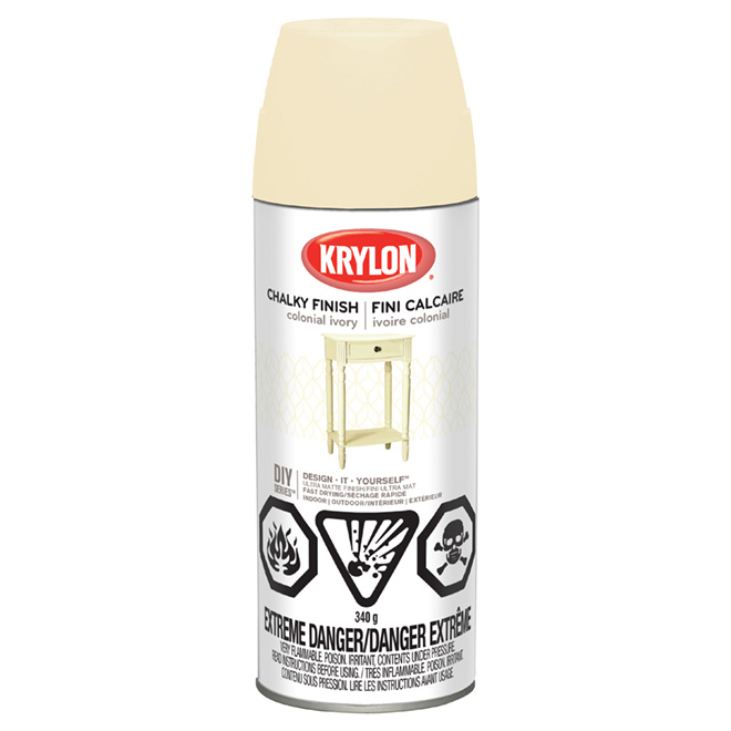 Aerosol Paint - Chalky Finish - Colonial Ivory