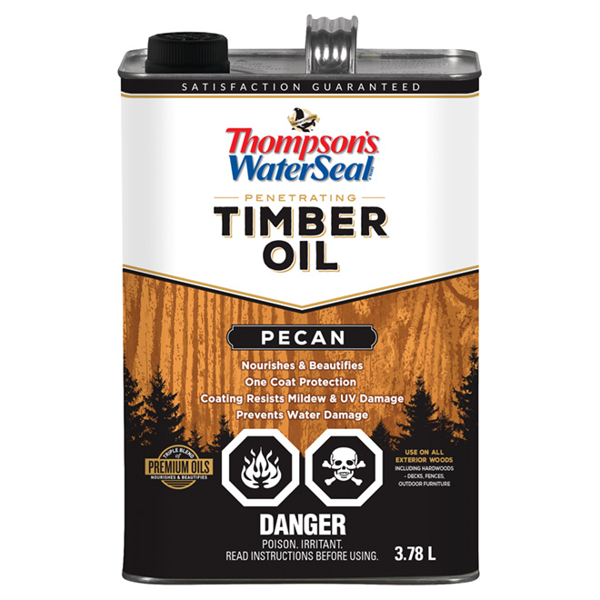 Penetrating Timber Oil - Pecan - 3.78 L